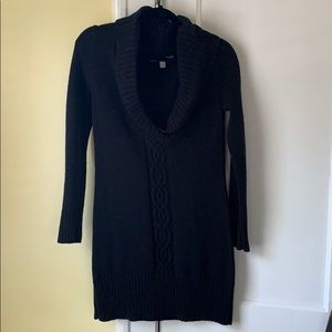 Old Navy Black Sweater Dress